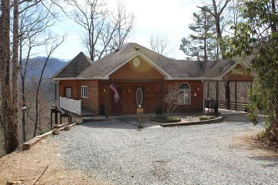 Bryson City Single Family Home Pending/Under Contract: 61 Clark Drive