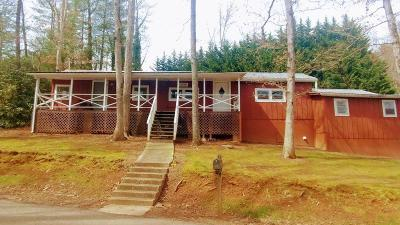 Franklin Single Family Home Pending/Under Contract: 549 Golf View Drive