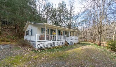 Sylva Single Family Home Pending/Under Contract: 269 Greens Creek