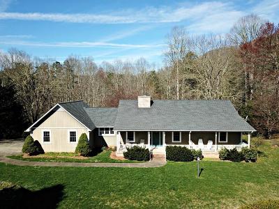 Sylva Single Family Home Pending/Under Contract: 1356 Buchanan Loop Rd