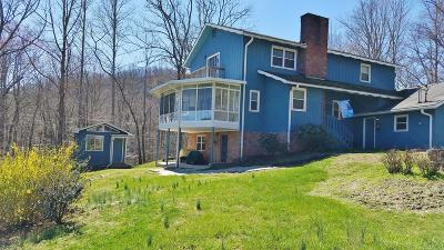 Otto Single Family Home Pending/Under Contract: 314 Swiss Village Rd