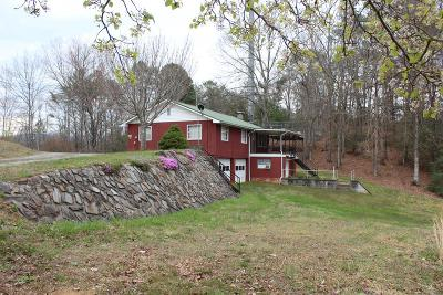 Bryson City Single Family Home Pending/Under Contract: 1377 Owle Drive