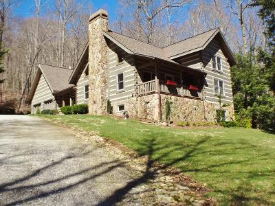 Franklin, Otto Single Family Home For Sale: 378 Rainbow Falls Rd.