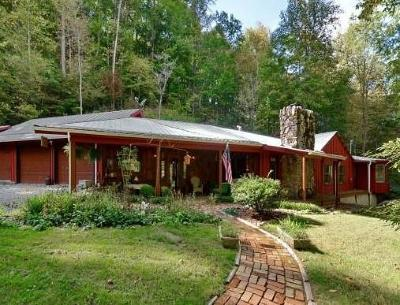 Sylva Single Family Home For Sale: 8 Quiet Forest Lane