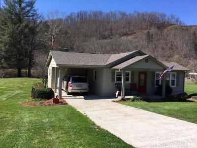 Jackson County Single Family Home Pending/Under Contract: 4744 Old Cullowhee Rd