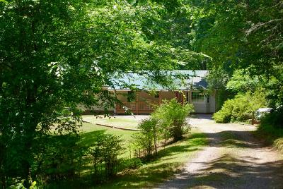 Franklin Single Family Home For Sale: 2671 Leatherman Gap Rd