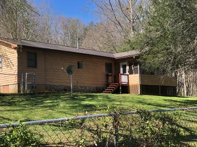 Franklin NC Single Family Home For Sale: $159,900