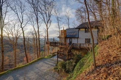 Bryson City Single Family Home For Sale: 639 Deer Ridge Road