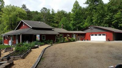 Franklin Single Family Home For Sale: 1006 Lake Ledford Rd.