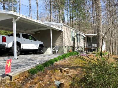 Franklin Single Family Home For Sale: 391 Carolina Village Circle