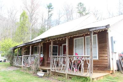 Sylva Single Family Home For Sale: 225 Dumplin Flatts