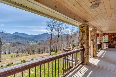 Sylva Single Family Home Pending/Under Contract: 410 Breezy Mountain Road