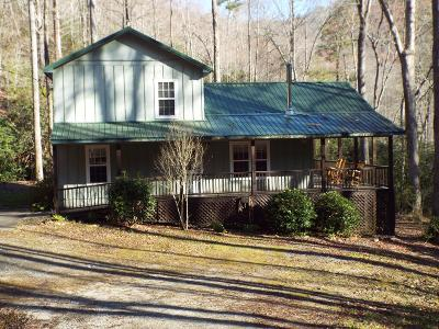 Sylva Single Family Home For Sale: 211 Happy Nest Road