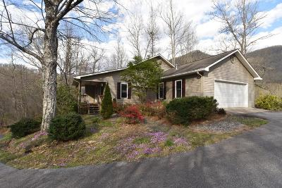 Cullowhee Single Family Home Pending/Under Contract: 161 Frosty Lane