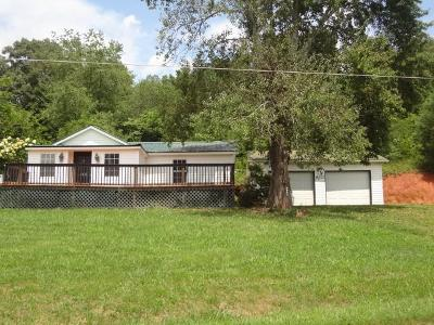 Franklin NC Single Family Home For Sale: $107,500