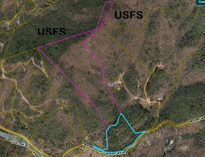 Otto Residential Lots & Land For Sale: Tract1&2 Hickory Gap Rd.