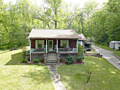 Sylva Single Family Home For Sale: 297 Happy Hollow Road