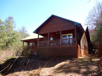 Macon County Single Family Home Pending/Under Contract: 27 Hemlock Falls Road