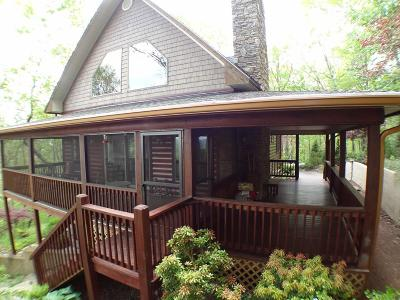 Franklin Single Family Home Pending/Under Contract: 795 Angel Knob Lane