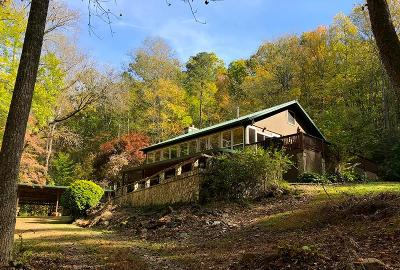 Bryson City Single Family Home Pending/Under Contract: 2850 Greasy Branch Rd.