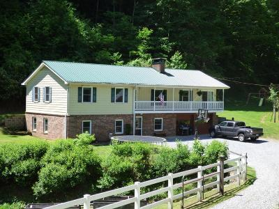 Cullowhee Single Family Home For Sale: 1287 Pressley Creek Rd