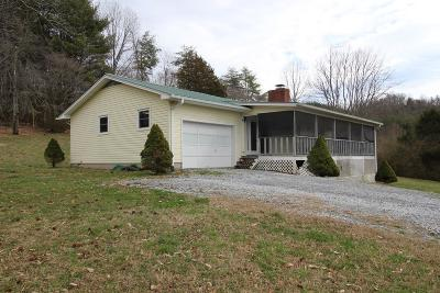 Otto Single Family Home Pending/Under Contract: 315 Tryphosa Rd