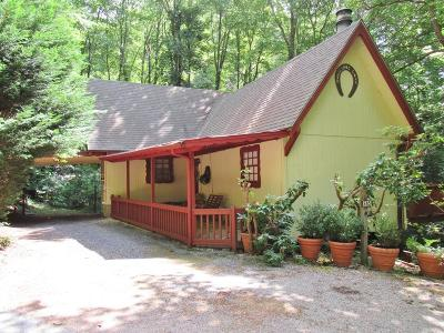 Franklin NC Single Family Home For Sale: $168,000