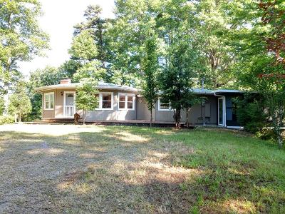 Franklin NC Single Family Home Pending/Under Contract: $159,000