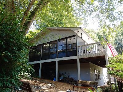 Franklin Single Family Home For Sale: 985 Mill Creek Road