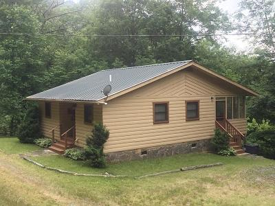 Bryson City Single Family Home For Sale: 1644 Unahala Rd.