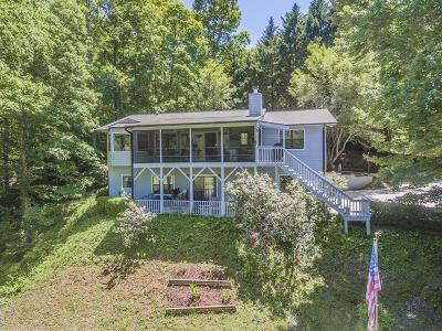 Franklin Single Family Home For Sale: 447 Oak Creek Road