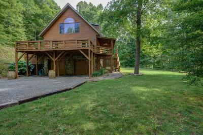Bryson City Single Family Home Pending/Under Contract: 120 High Springs Road