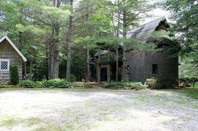 Highlands Single Family Home Pending/Under Contract: 1264 Flat Mountain Road