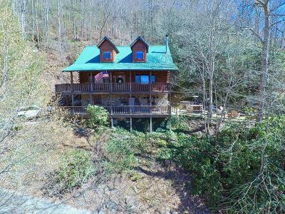 Bryson City Single Family Home Pending/Under Contract: 1149 Unahala Creek Road