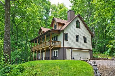 Franklin Single Family Home Pending/Under Contract: 681 Whisper Mountain Road