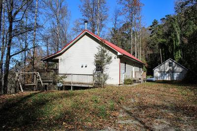 Bryson City Single Family Home For Sale: 557 Deer Ridge Rd.