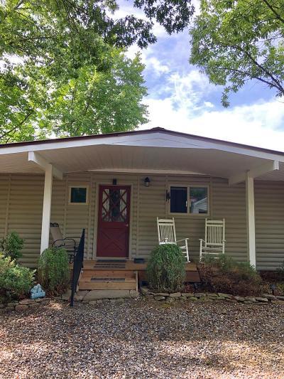 Bryson City Single Family Home For Sale: 456 Morgans Ridge