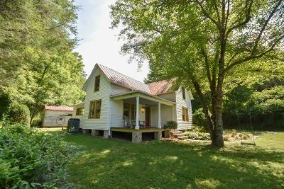Franklin Single Family Home Pending/Under Contract: 40 Queen Branch Road