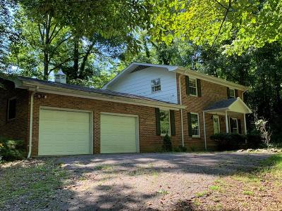 Sylva Single Family Home Pending/Under Contract: 239 Rivercrest Dr