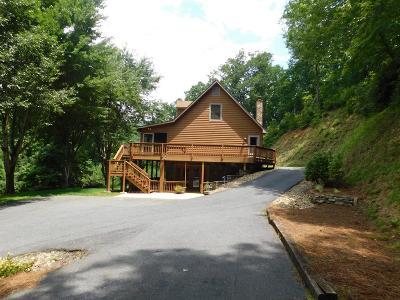 Sylva Single Family Home Pending/Under Contract: 125 Shallotte Ridge