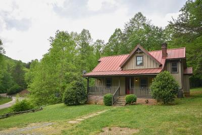 Otto Single Family Home For Sale: 635 Hannah Mountain Road