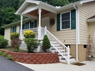 Sylva Single Family Home Pending/Under Contract: 219 Cagle Branch