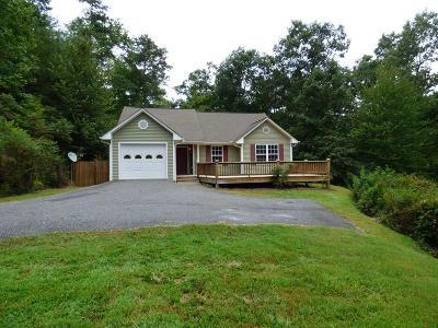 Sylva Single Family Home Pending/Under Contract: 351 Calvary Church Road