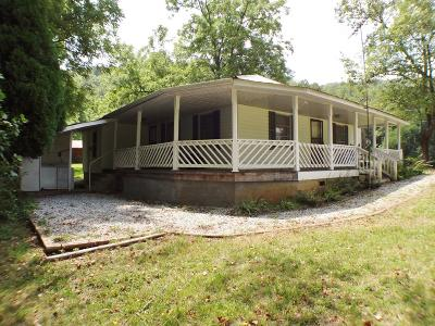 Franklin Single Family Home For Sale: 3852 Burningtown Road