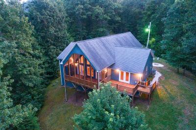 Cullowhee Single Family Home For Sale: 525 Cabin Ridge