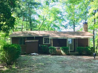 Bryson City Single Family Home For Sale: 357 Wilkes Rd.