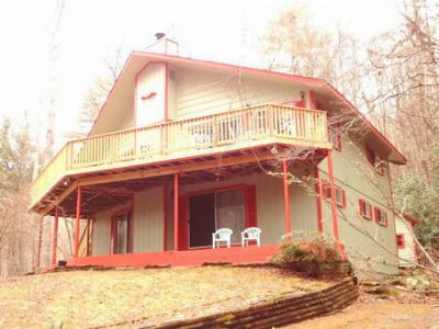 Mountain Chalet for Sale Franklin NC