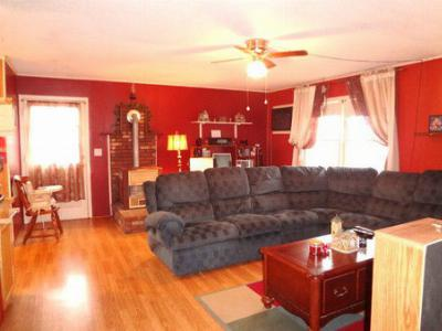 Spacious Open Living Room Home for Sale Otto NC