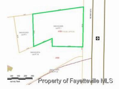 Cumberland County Residential Lots & Land For Sale: 5029 S Nc 87 Hwy