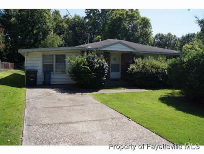 Fayetteville NC Single Family Home For Sale: $62,000